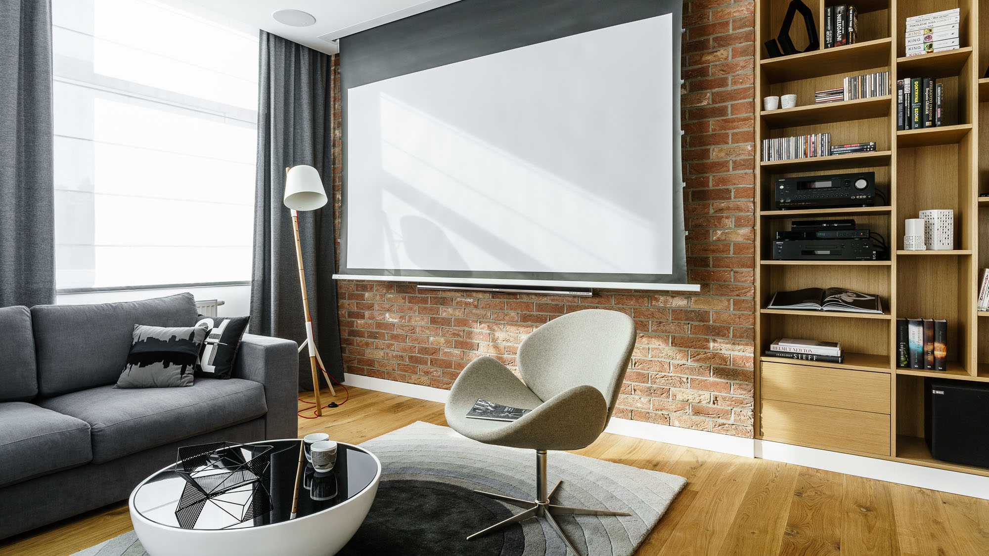 Modern Metallic, Wooden, White Theme Three Bedroom Apartment in Gdynia by Dragon Art-20