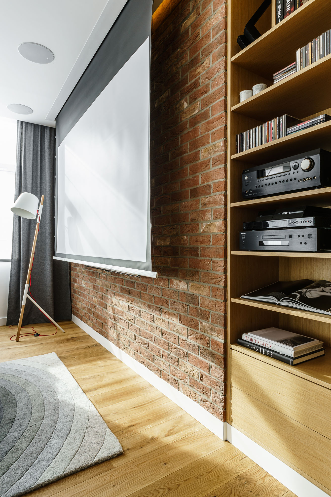 Modern Metallic, Wooden, White Theme Three Bedroom Apartment in Gdynia by Dragon Art-22