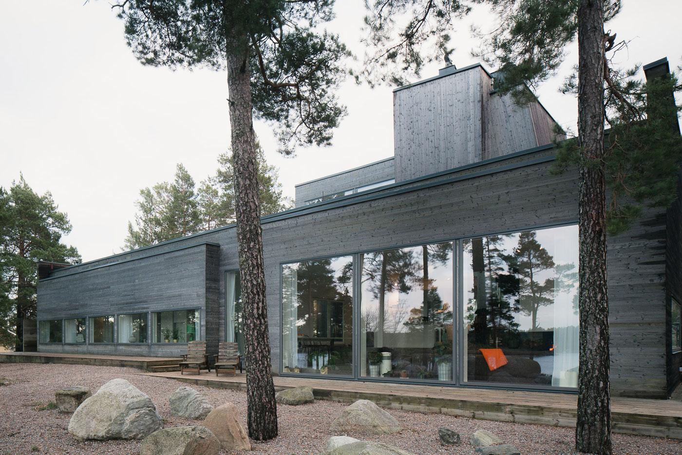 Modern Villa Östernäs in Ingarö by Gabriel Minguez-02