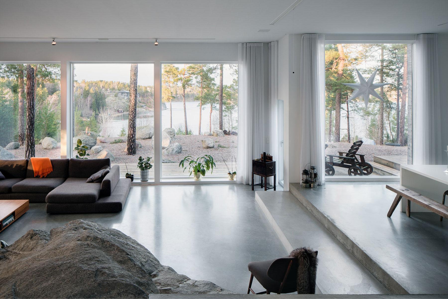 Modern Villa Östernäs in Ingarö by Gabriel Minguez-04