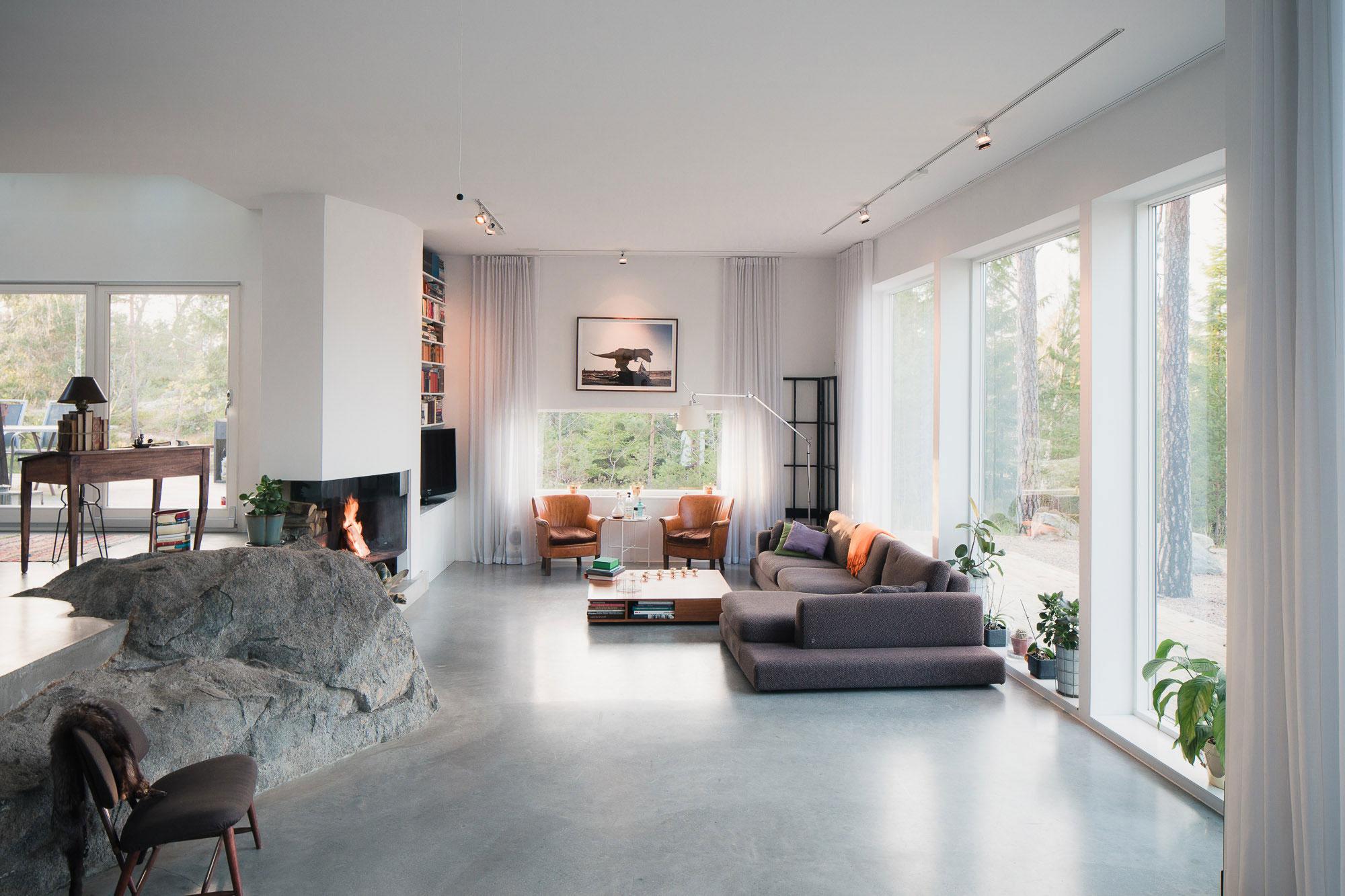 Modern Villa Östernäs in Ingarö by Gabriel Minguez-05
