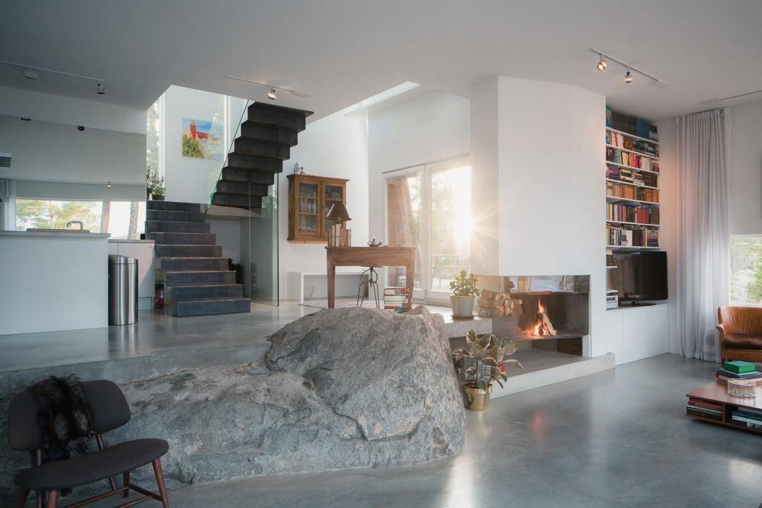 Modern Villa Östernäs in Ingarö by Gabriel Minguez