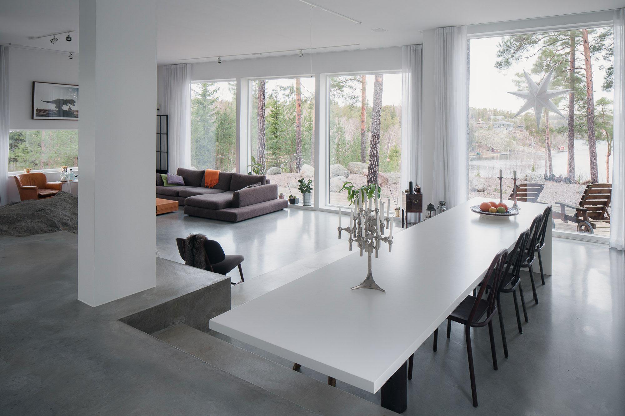 Modern Villa Östernäs in Ingarö by Gabriel Minguez-11
