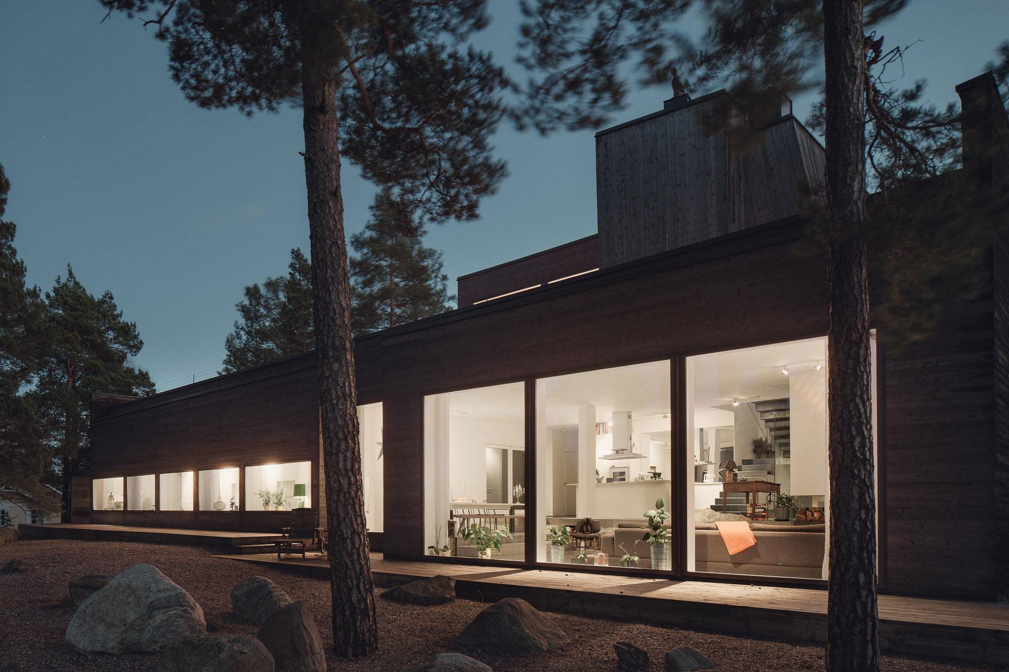 Modern Villa Östernäs in Ingarö by Gabriel Minguez-21