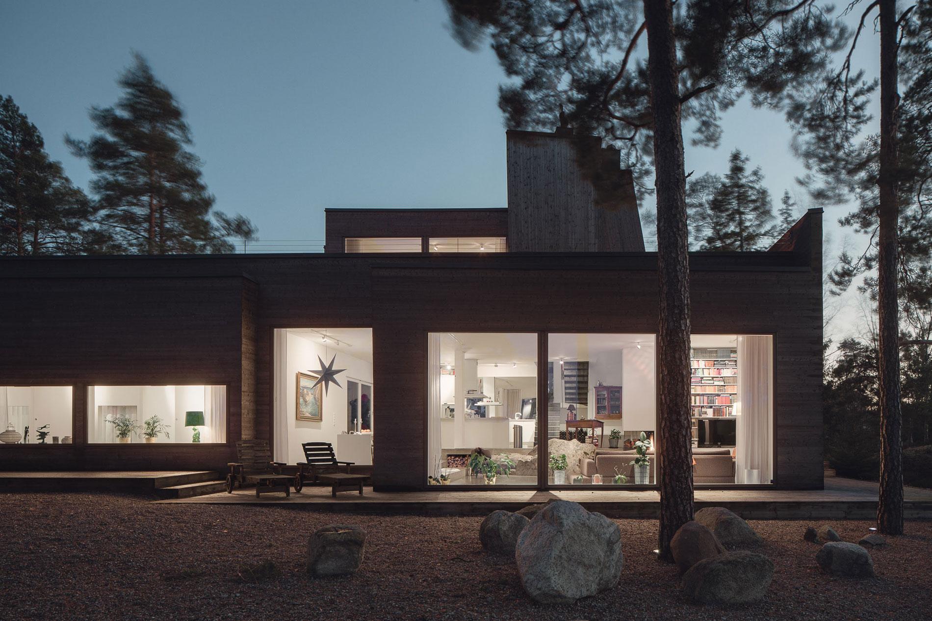 Modern Villa Östernäs in Ingarö by Gabriel Minguez-22