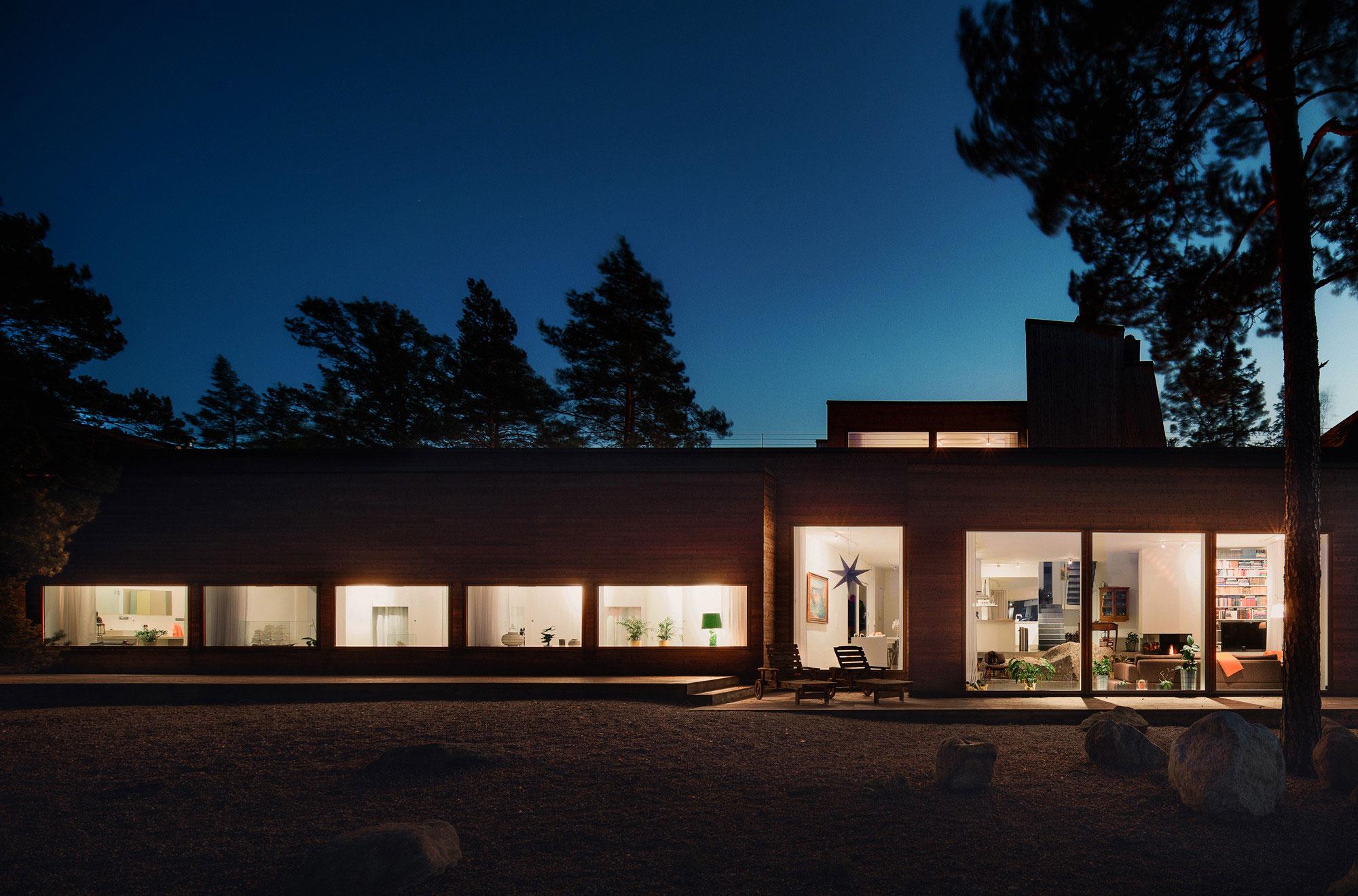 Modern Villa Östernäs in Ingarö by Gabriel Minguez-23