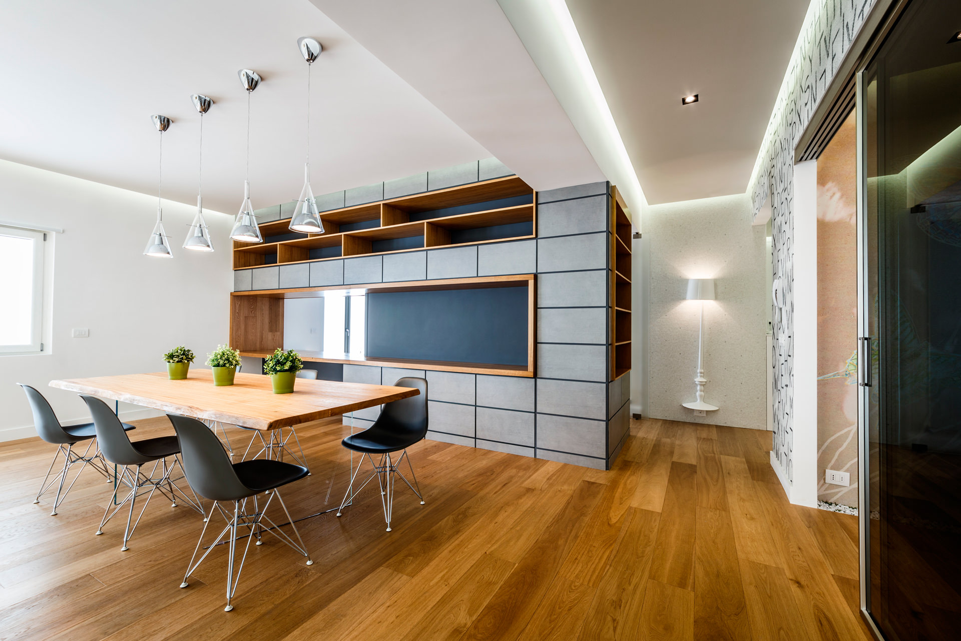 Monolithic Apartment with Predominant Wood Elements by Brain Factory-01