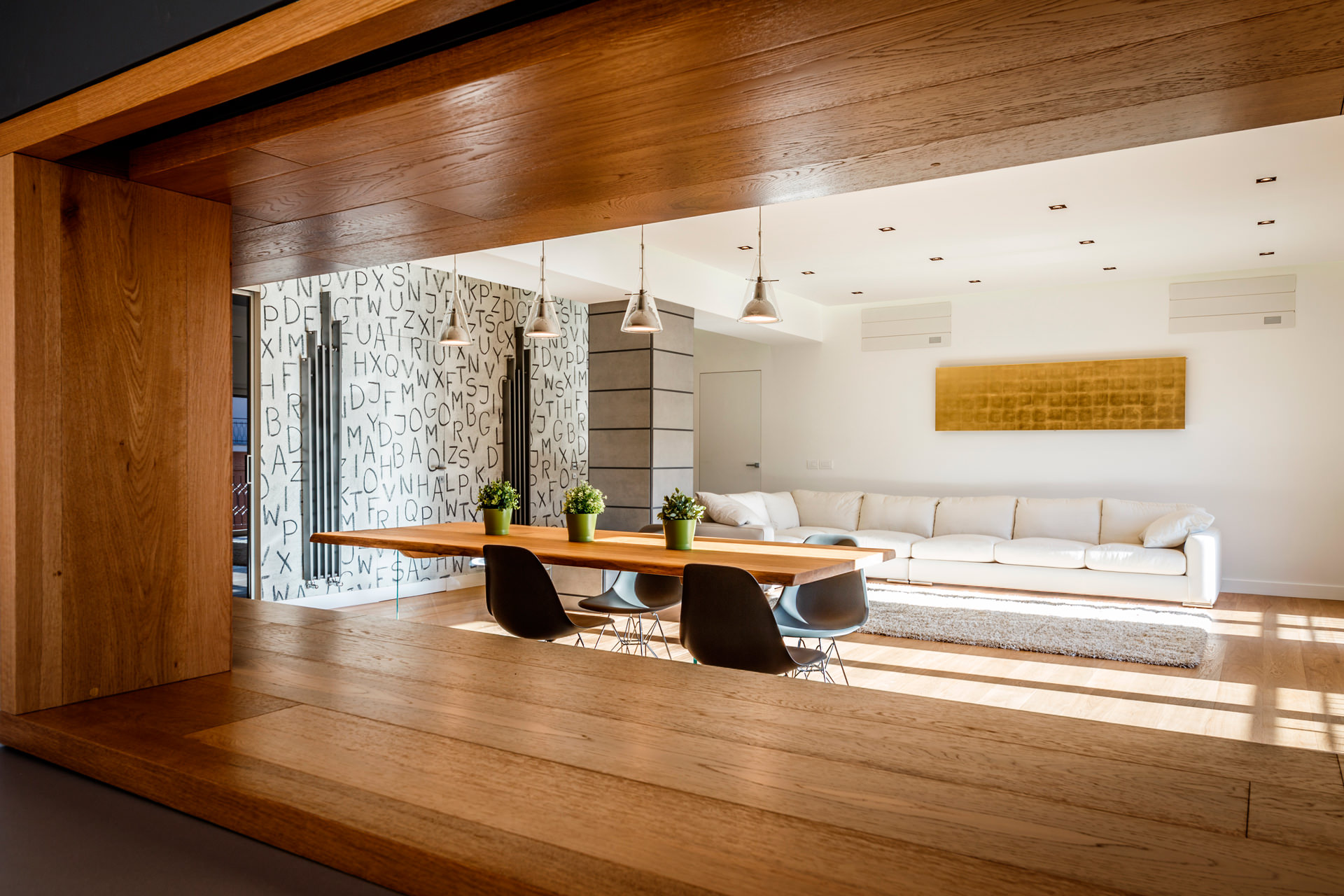 Monolithic Apartment with Predominant Wood Elements by Brain Factory-06