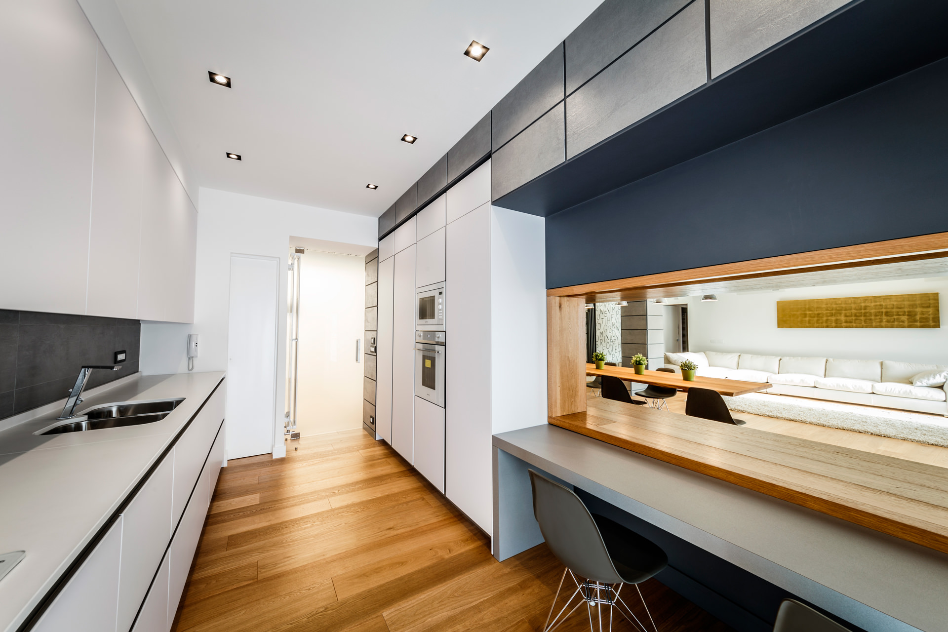 Monolithic Apartment with Predominant Wood Elements by Brain Factory-07