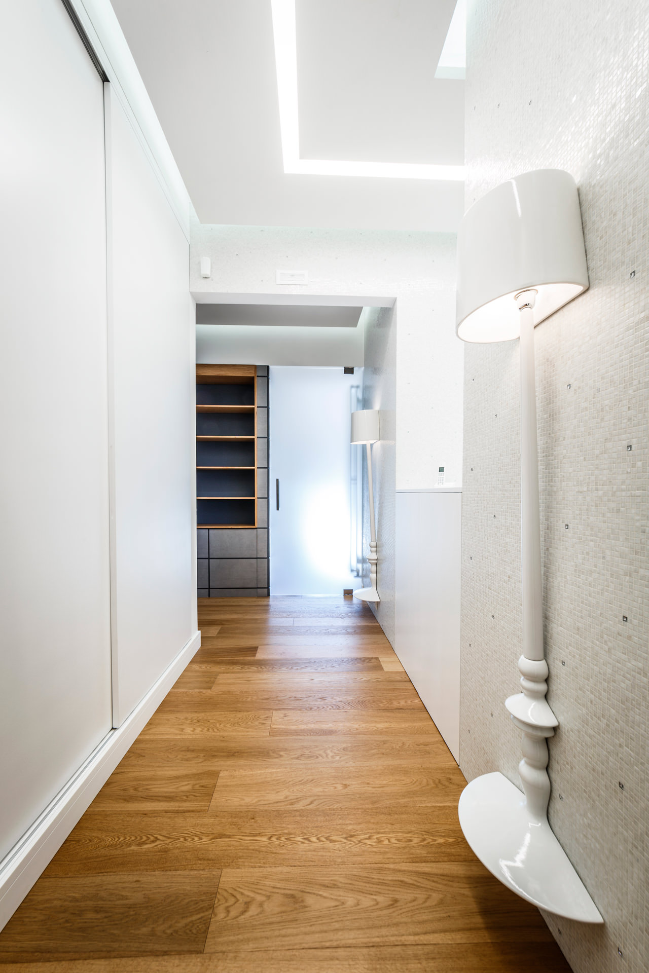 Monolithic Apartment with Predominant Wood Elements by Brain Factory-09