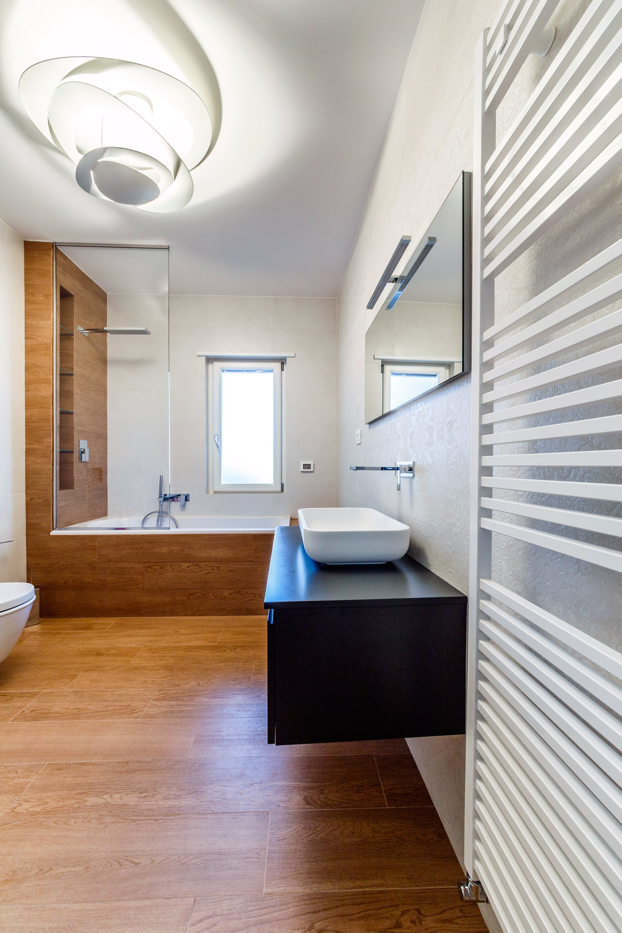 Monolithic Apartment with Predominant Wood Elements by Brain Factory-15