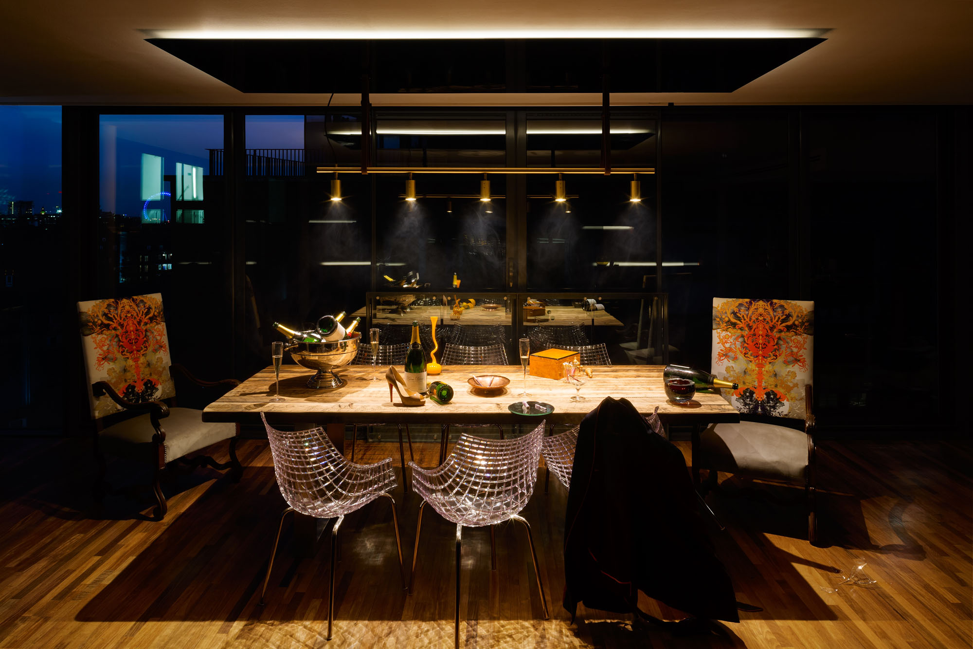 Night and Day Bermondsey Penthouse in London by Daniel Hopwood-03