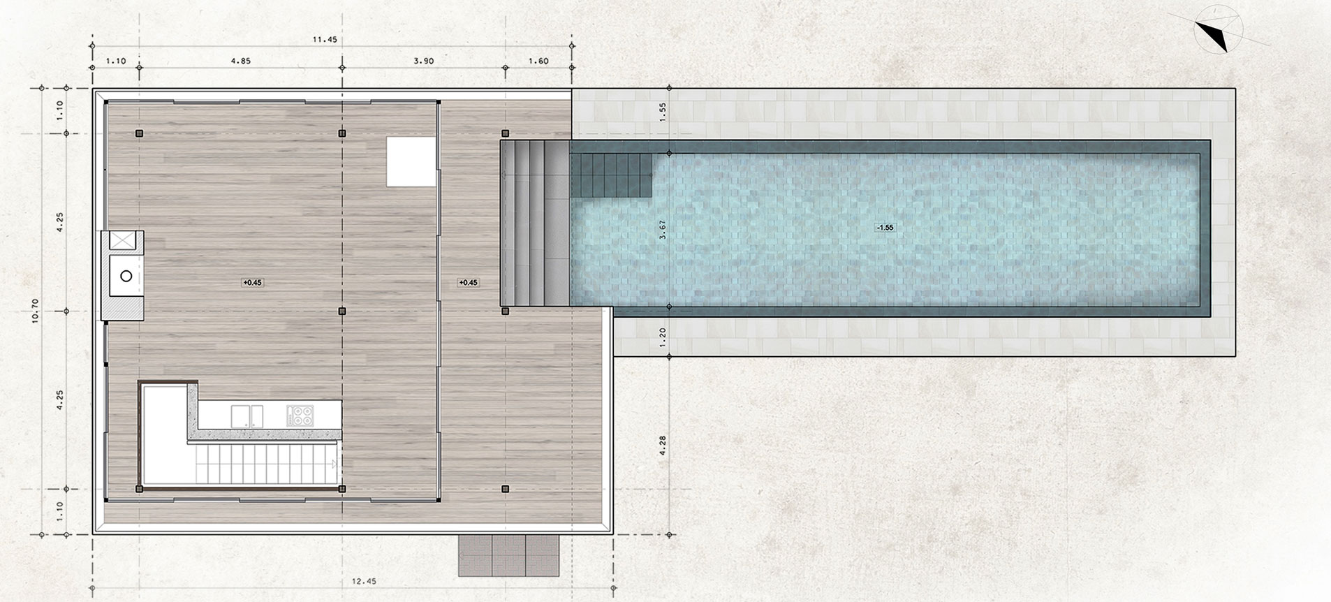 Pavilion at Architect's Residence in Nicosia by Kythreotis Architects-15
