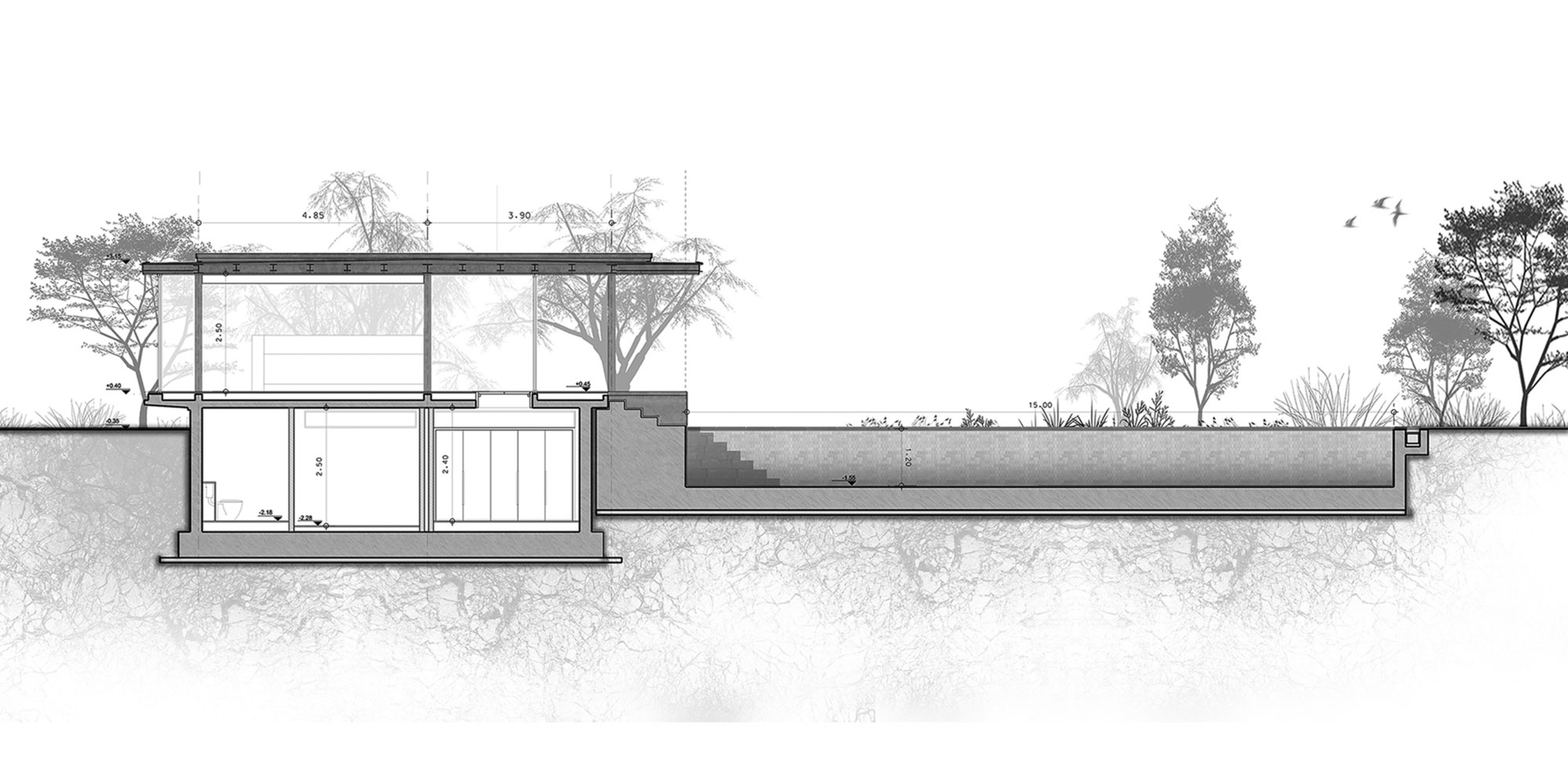 Pavilion at Architect's Residence in Nicosia by Kythreotis Architects-20