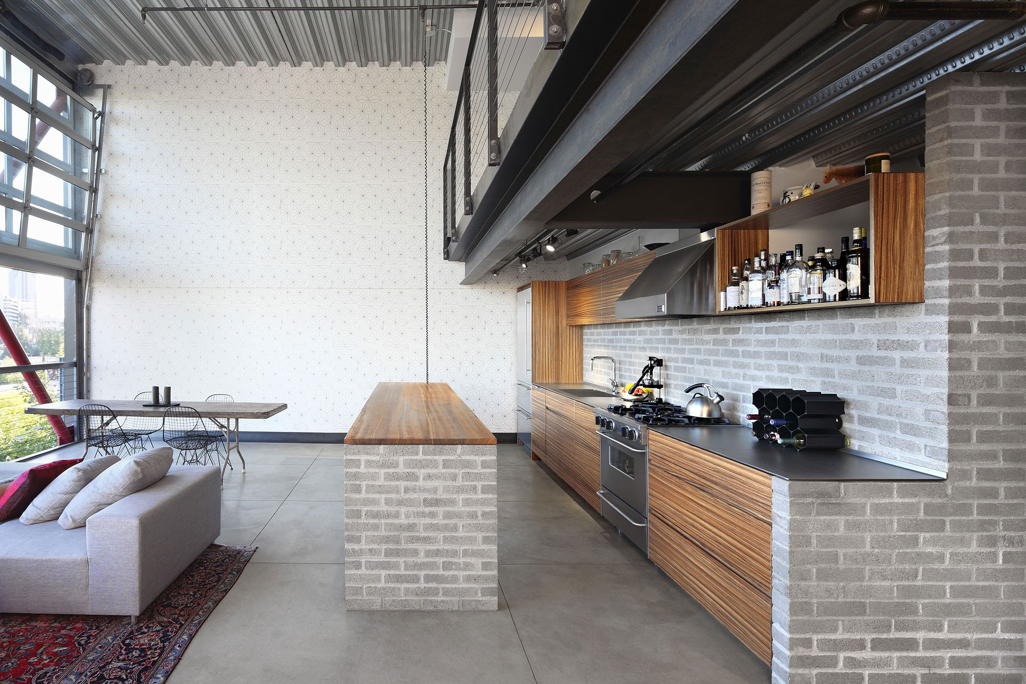 Renovation of capitol hill industrial loft in seattle by for Renovation design