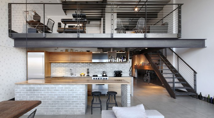 Renovation of Capitol Hill Industrial Loft in Seattle by SHED Architecture & Design