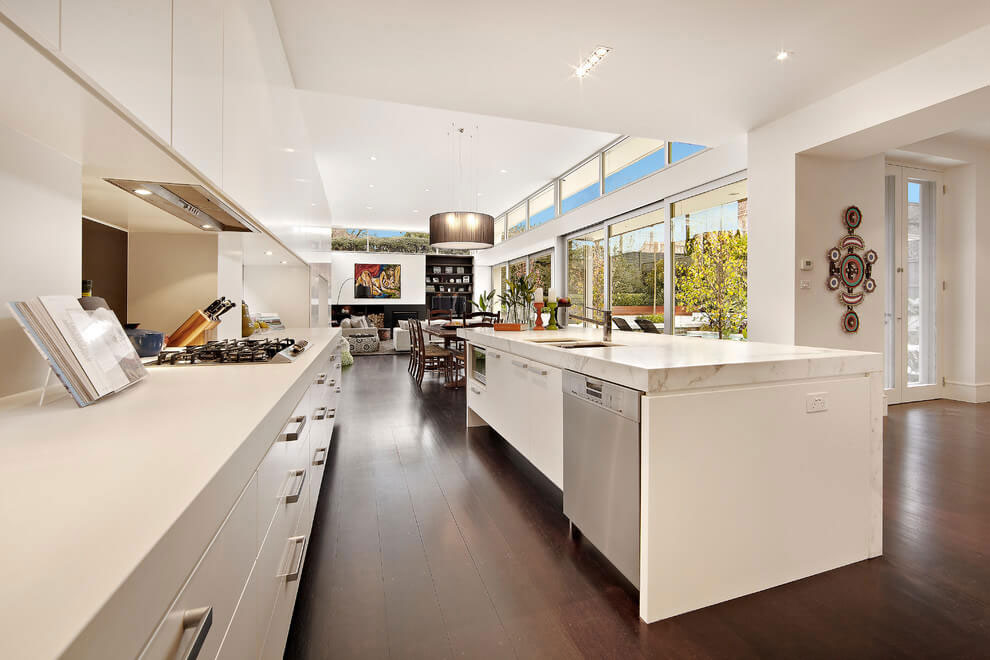 Renovation of Kooyong House into an Contemporary Residence in Melbourne by Schulberg Demkiw Architects-04