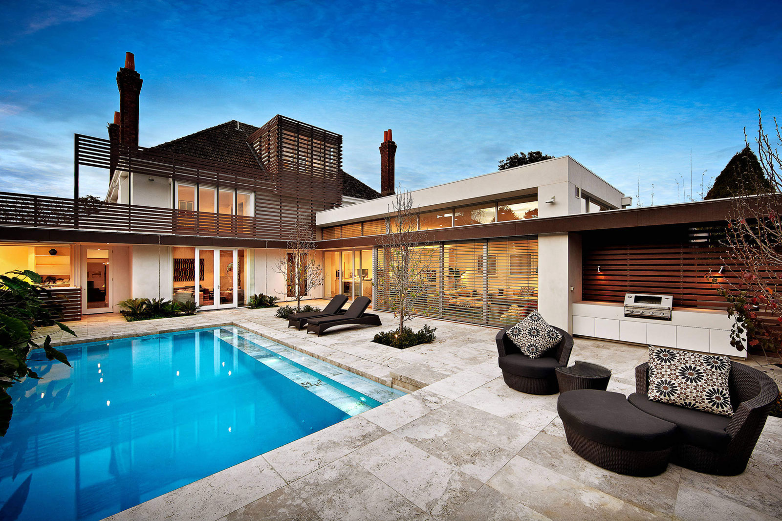 Renovation of Kooyong House into an Contemporary Residence in Melbourne by Schulberg Demkiw Architects-11