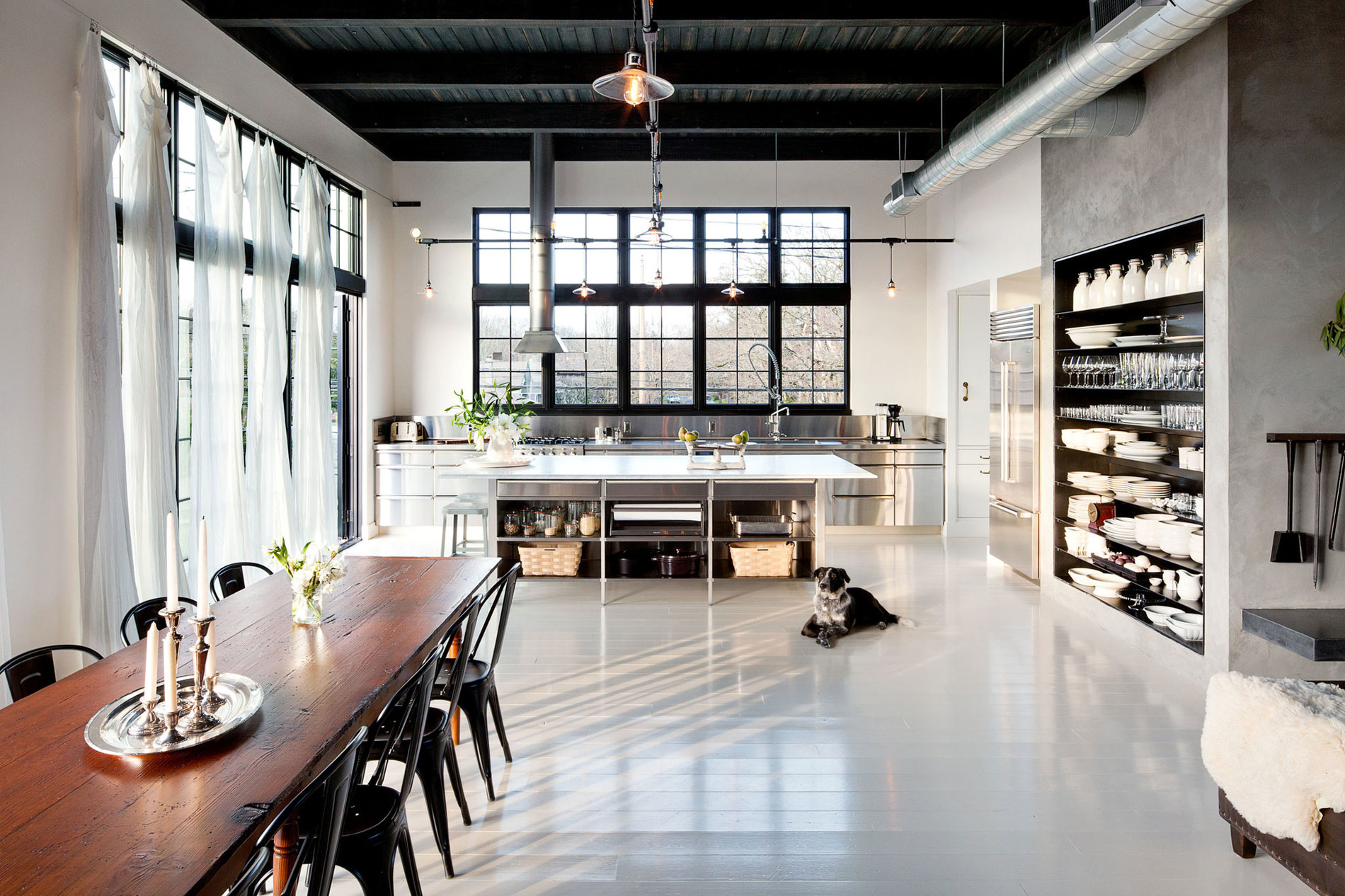 Se division street industrial home in portland by emerick architects caandesign architecture - Warehouse home designs ...