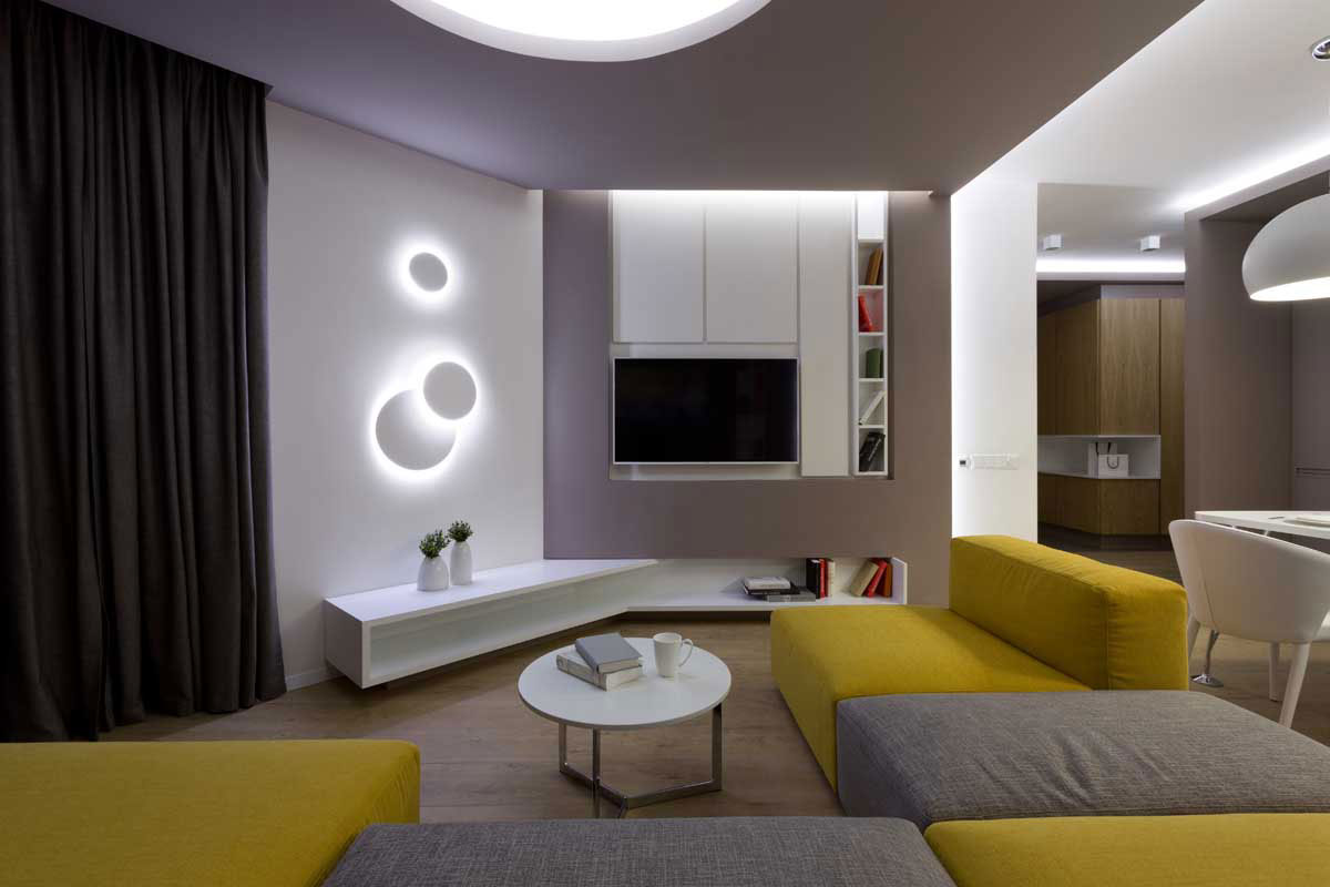 Sophisticate Moon Box Apartment in Kiev by Denis Rakaev-05