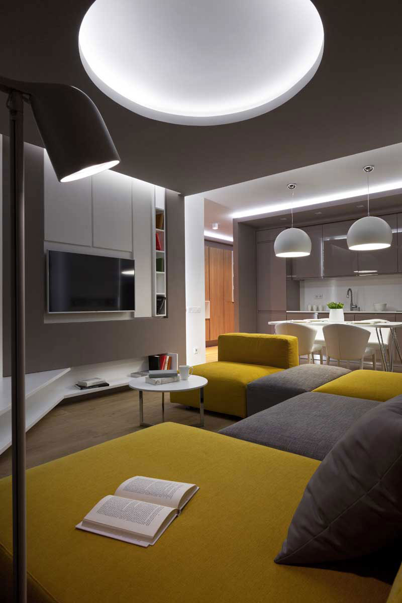 Sophisticate Moon Box Apartment in Kiev by Denis Rakaev-08