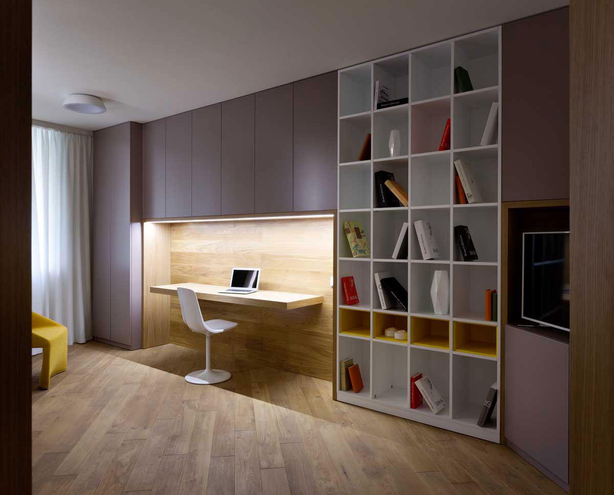 Sophisticate Moon Box Apartment in Kiev by Denis Rakaev-14
