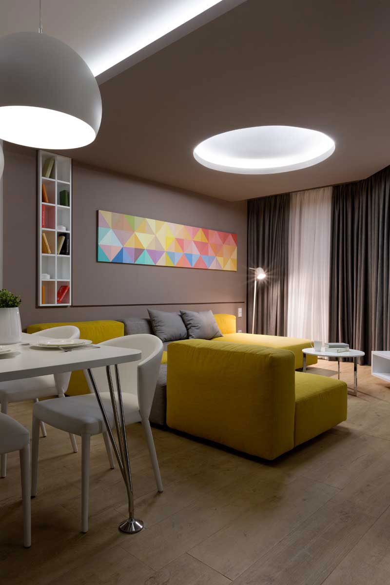 Sophisticate Moon Box Apartment in Kiev by Denis Rakaev-16