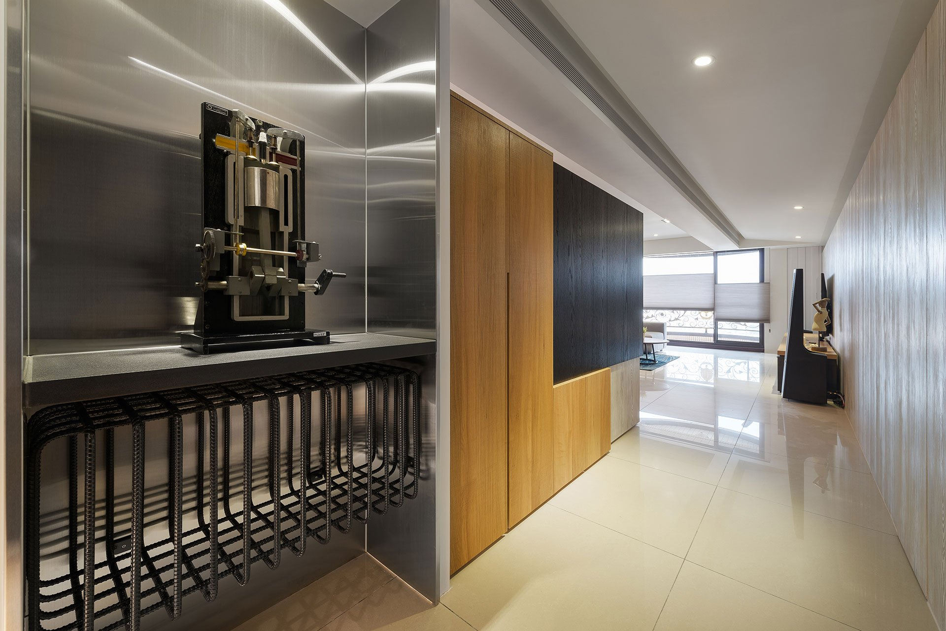 Stylish Element Apartment in Taiwan by White Interior Design-01