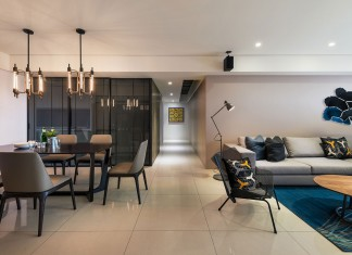 Stylish Element Apartment in Taiwan by White Interior Design