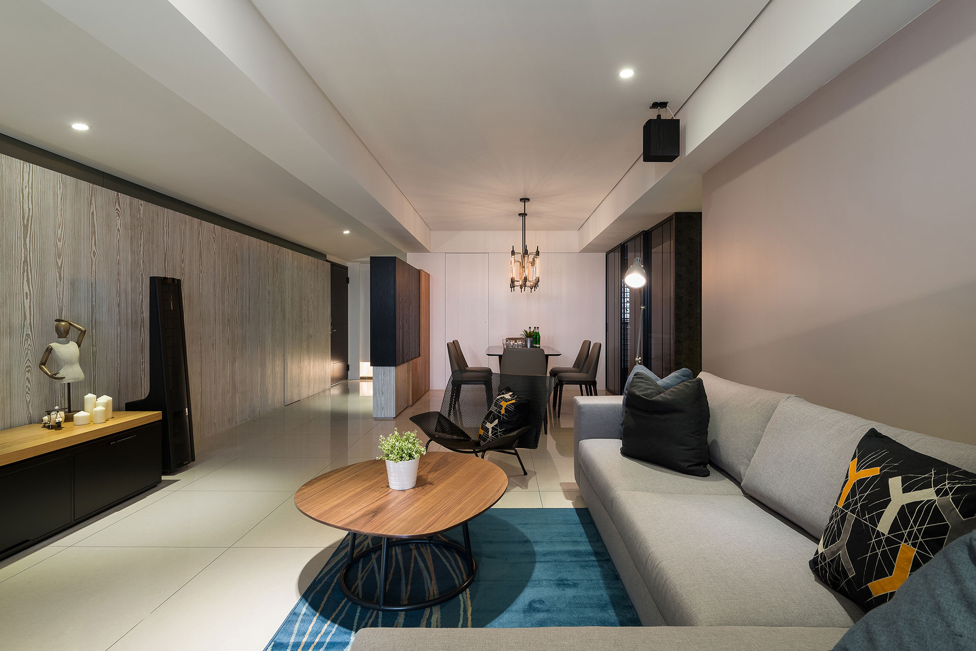 Stylish Element Apartment in Taiwan by White Interior Design-09