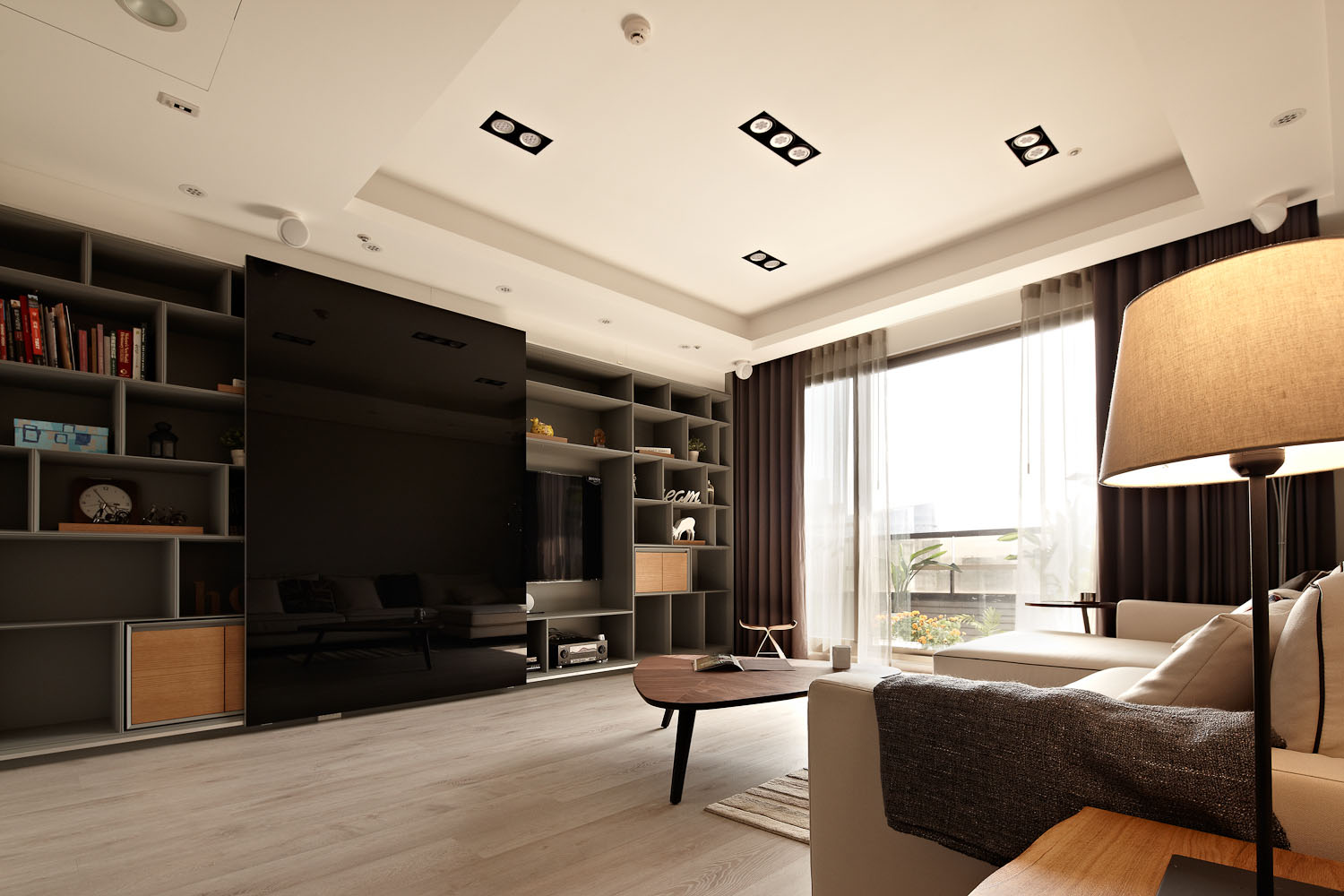 Sun from the West Coast Contemporary Apartment in Taipei by Alfonso Ideas-02