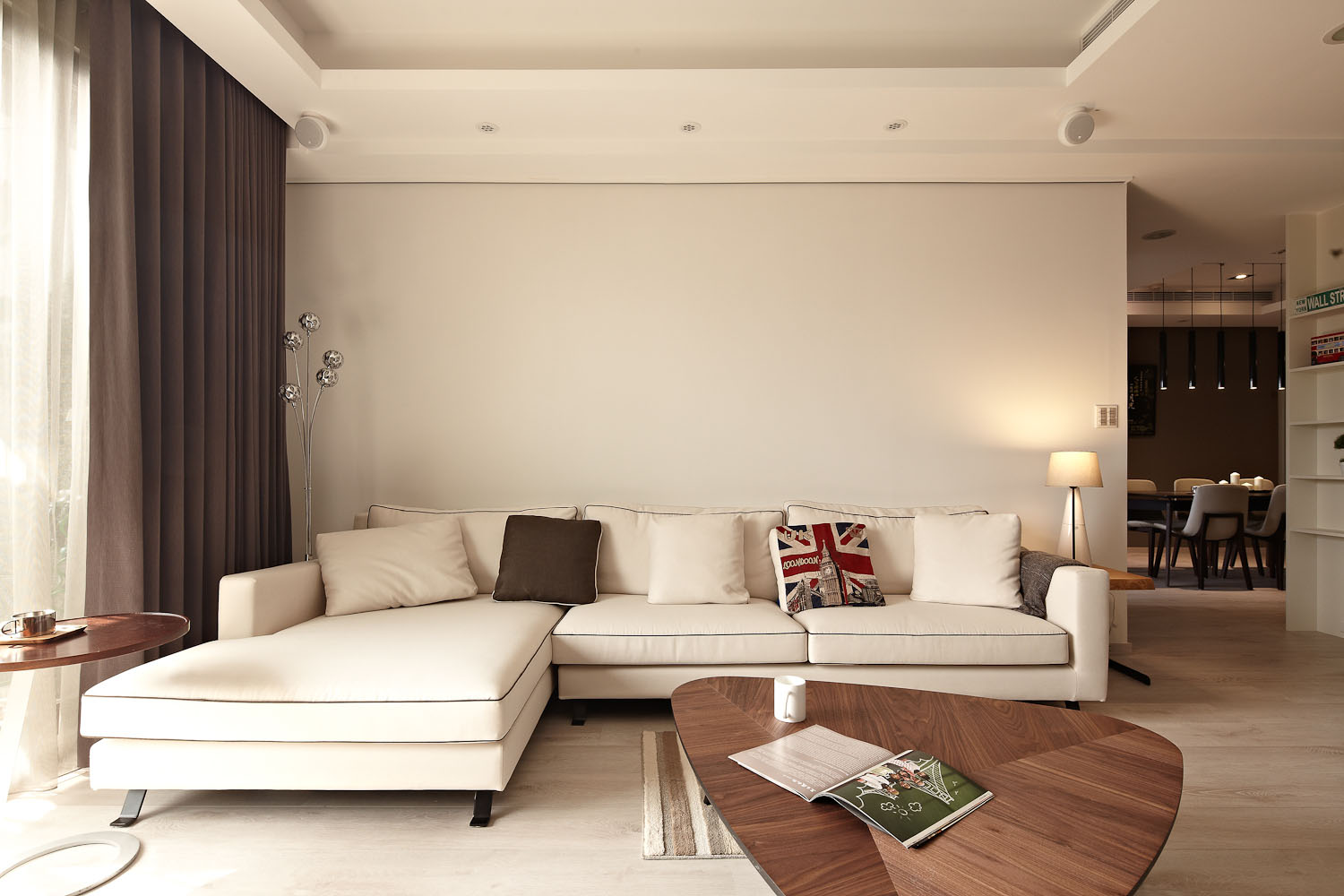 Sun from the West Coast Contemporary Apartment in Taipei by Alfonso Ideas-04