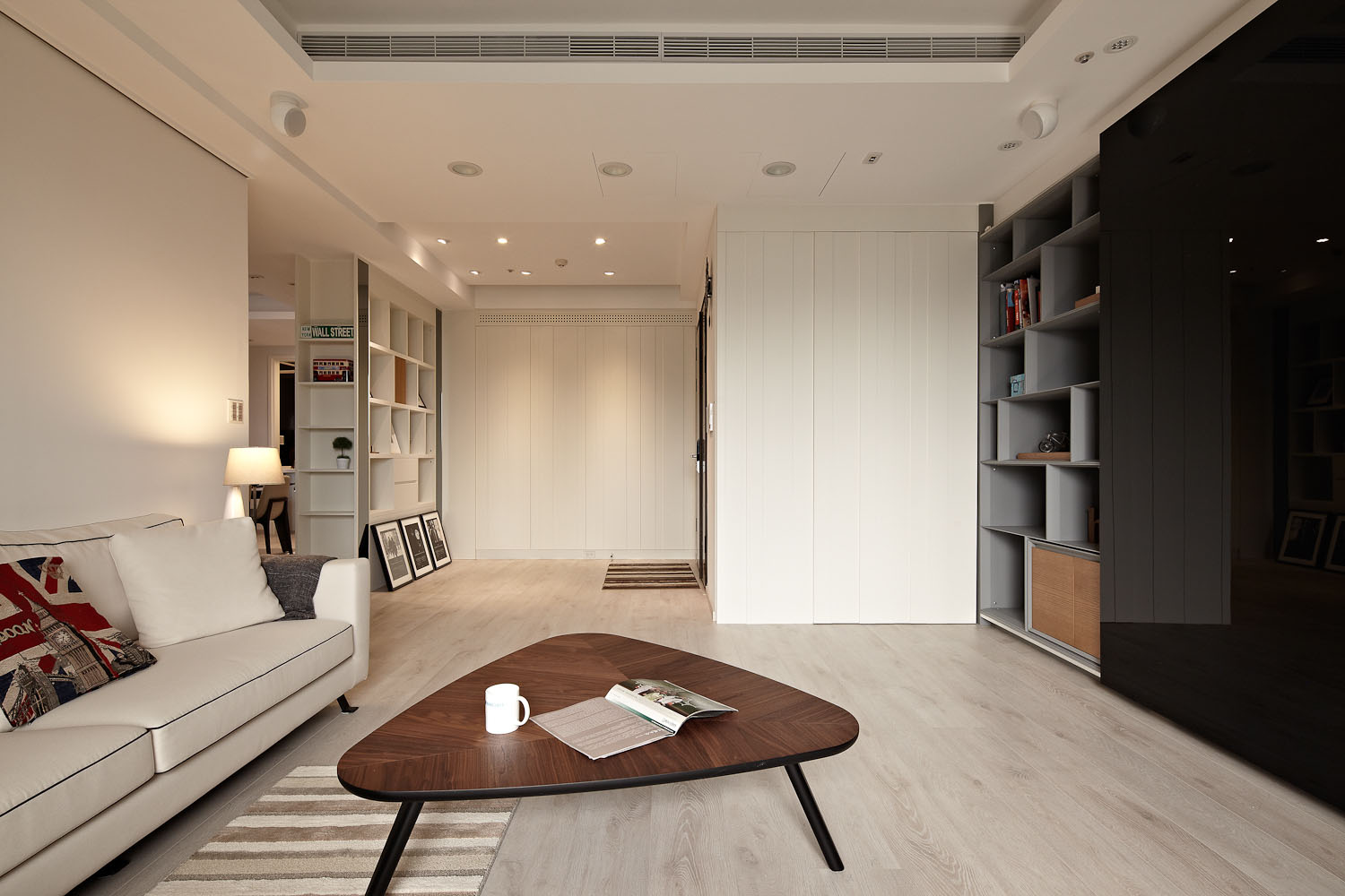 Sun from the West Coast Contemporary Apartment in Taipei by Alfonso Ideas-05