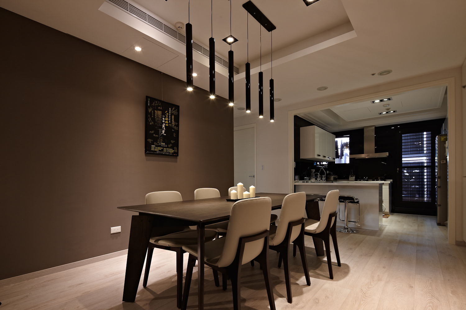 Sun from the West Coast Contemporary Apartment in Taipei by Alfonso Ideas-09