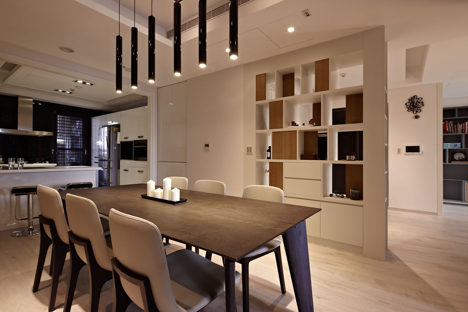 Sun from the West Coast Contemporary Apartment in Taipei by Alfonso Ideas-10