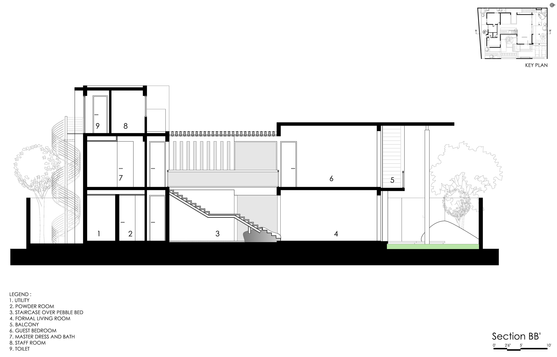 The Courtyard House near Bangalore by Abin Design Studio-34