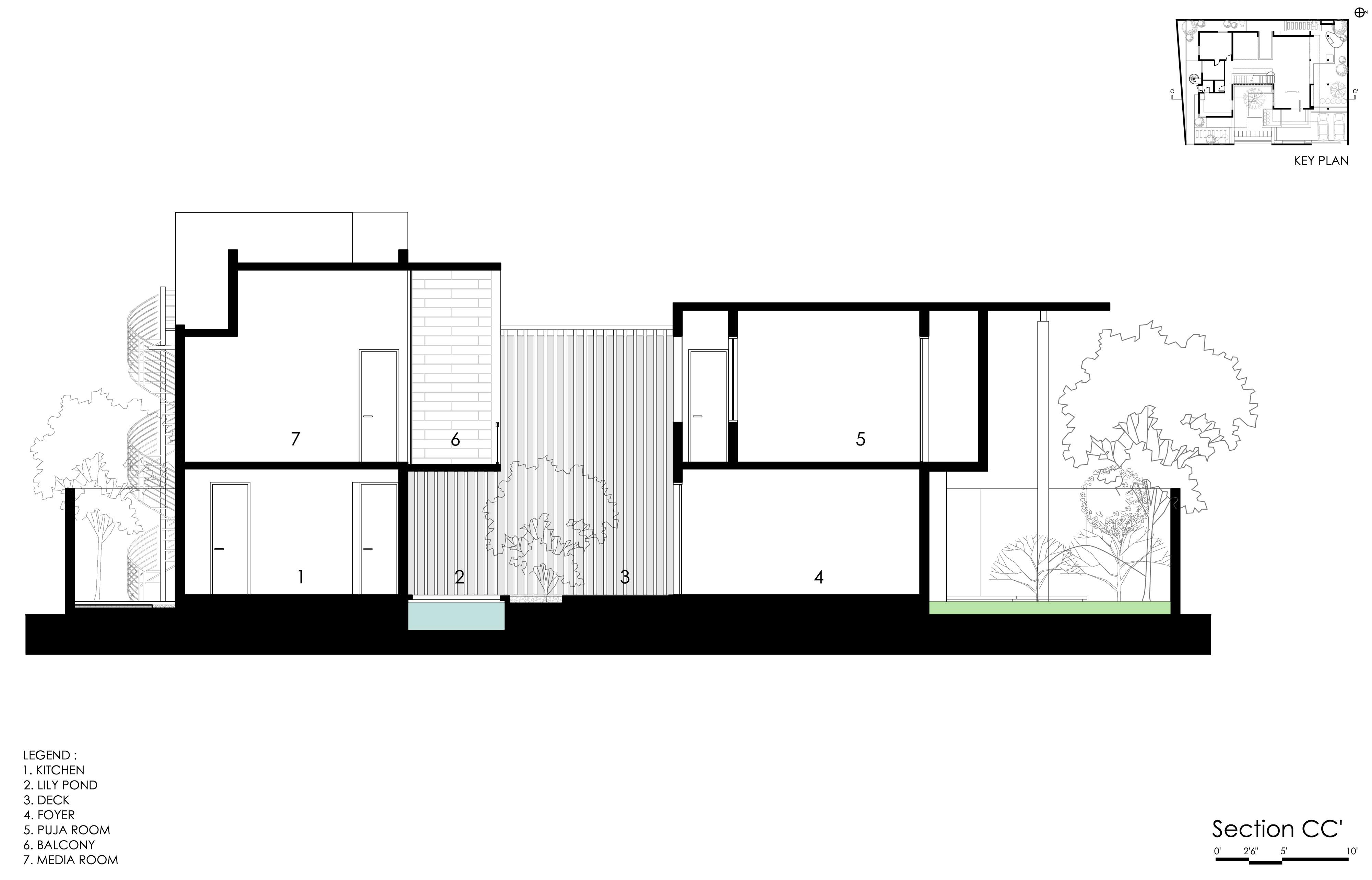 The Courtyard House near Bangalore by Abin Design Studio-35