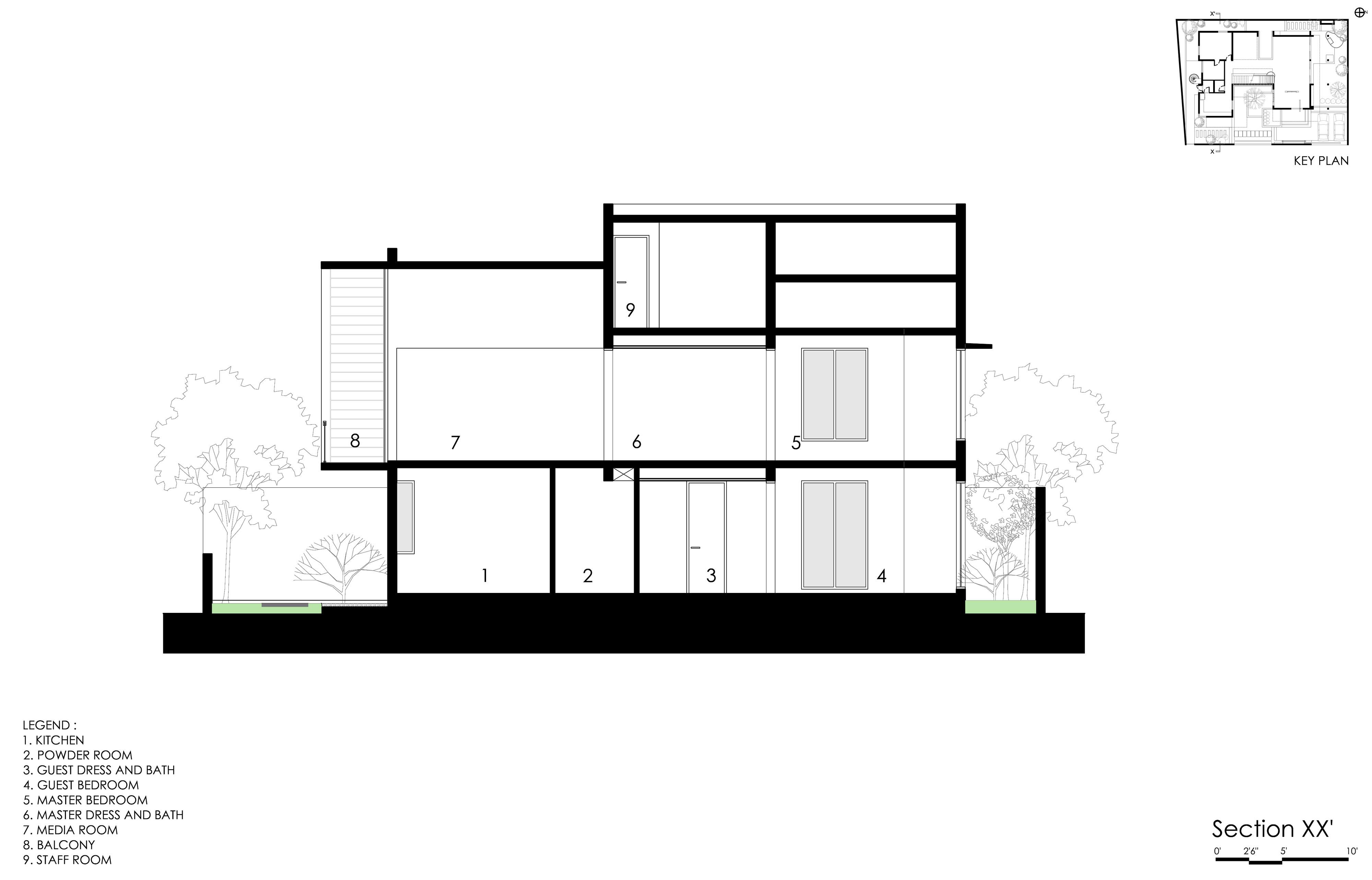 The Courtyard House near Bangalore by Abin Design Studio-36