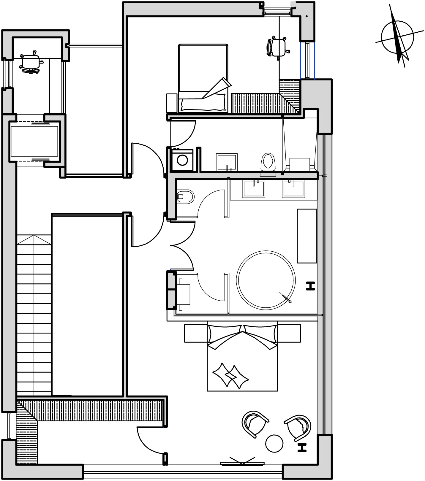 The Hidden Home in Tel Aviv by Israelevitz Architects-32