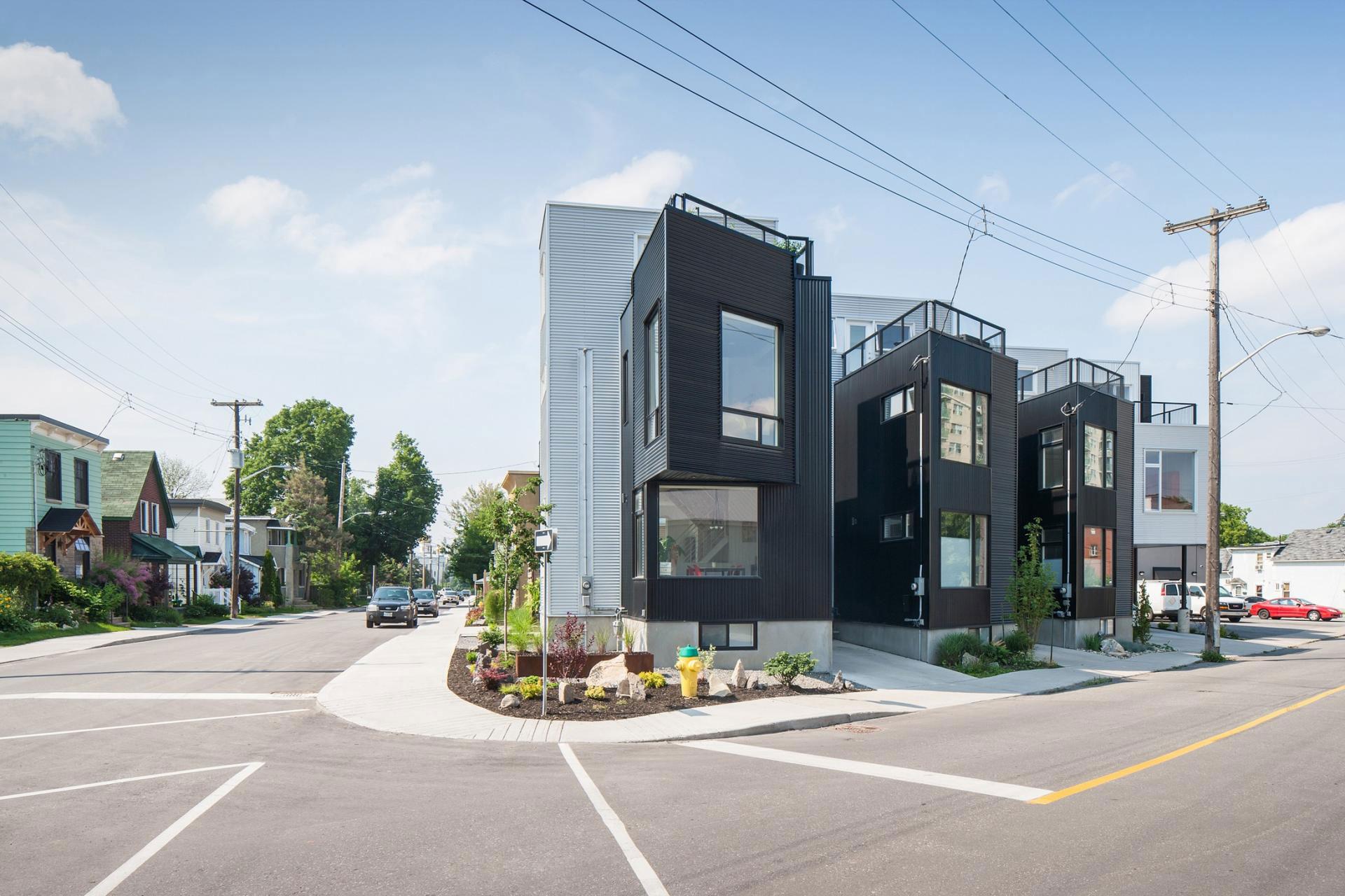 The Hintonburg Six Multi-unit Development by Colizza Bruni Architecture-01