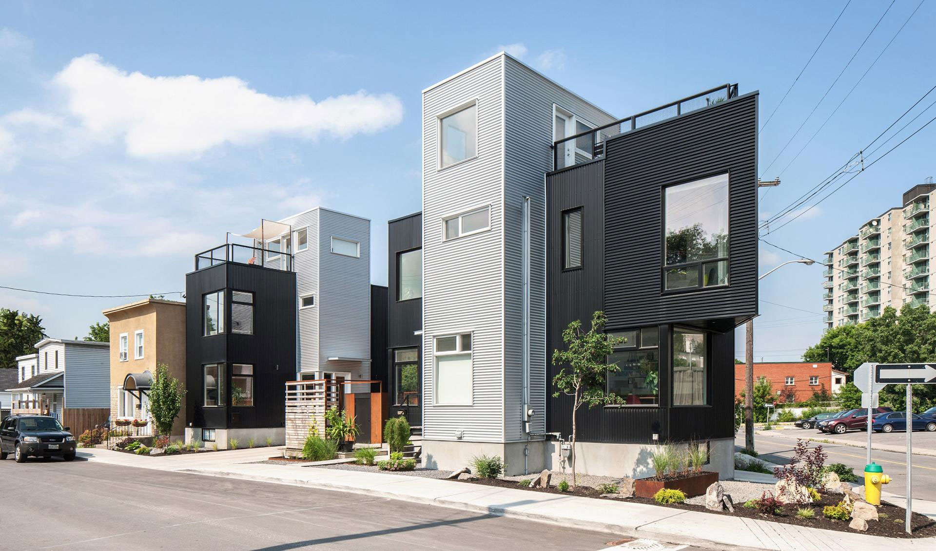 The Hintonburg Six Multi-unit Development by Colizza Bruni Architecture-02