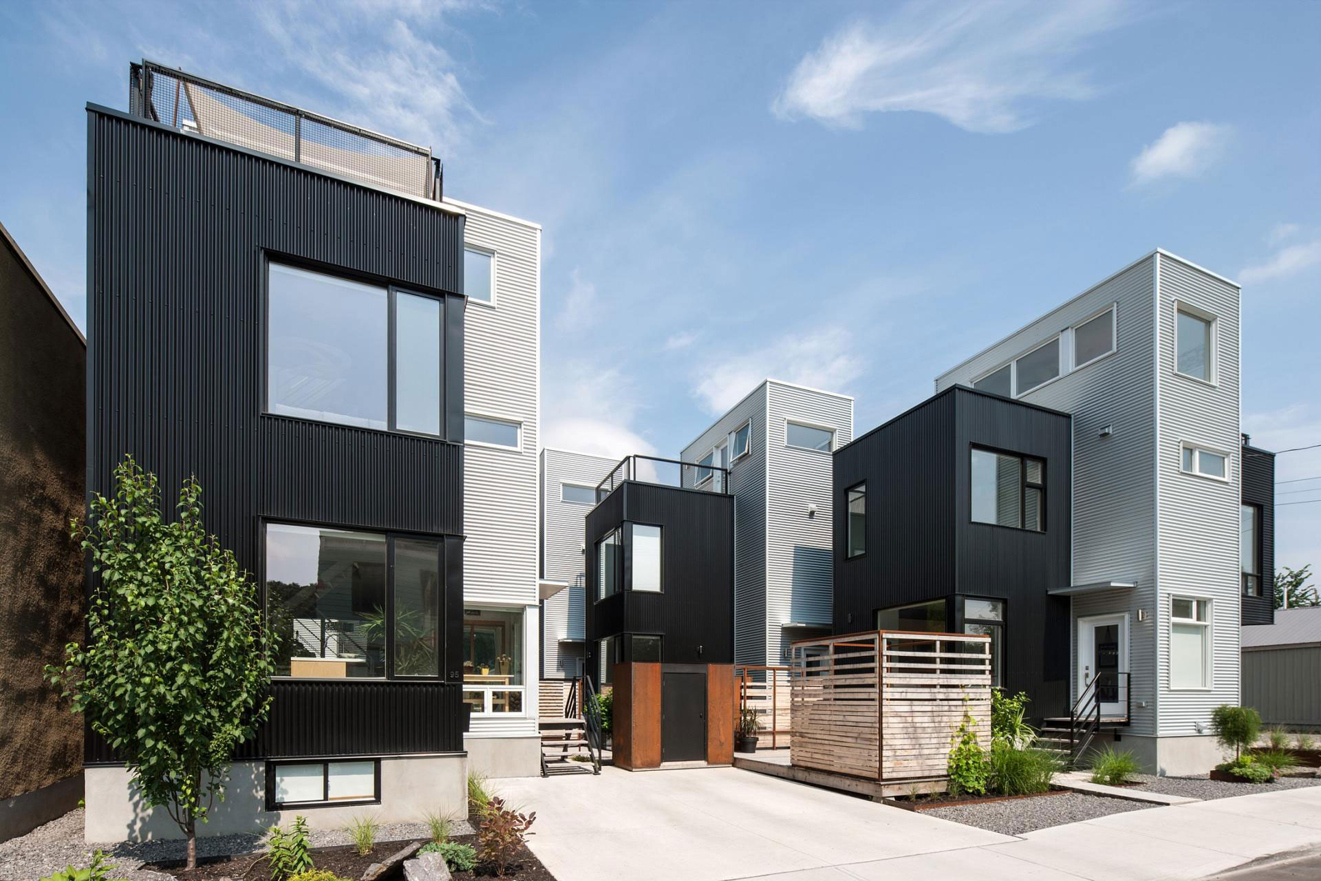 The Hintonburg Six Multi-unit Development by Colizza Bruni Architecture-03