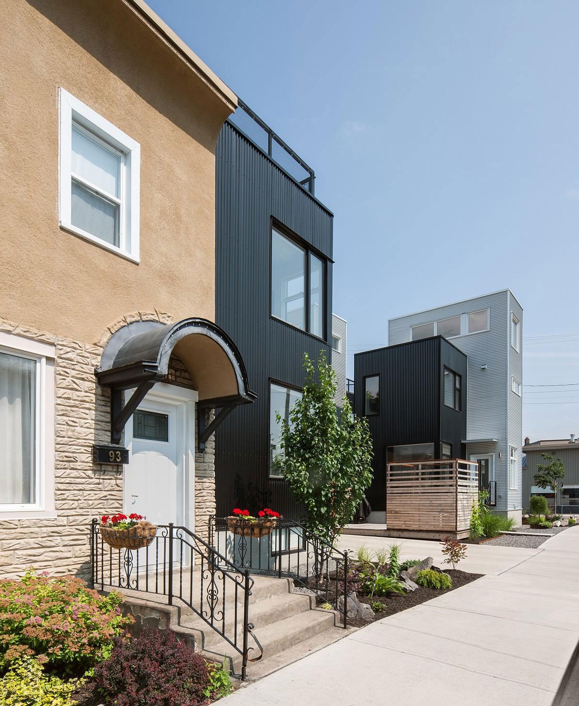The Hintonburg Six Multi-unit Development by Colizza Bruni Architecture-07