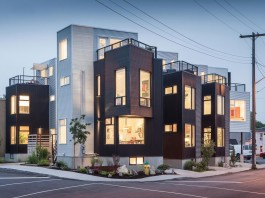 The Hintonburg Six Multi-unit Development by Colizza Bruni Architecture