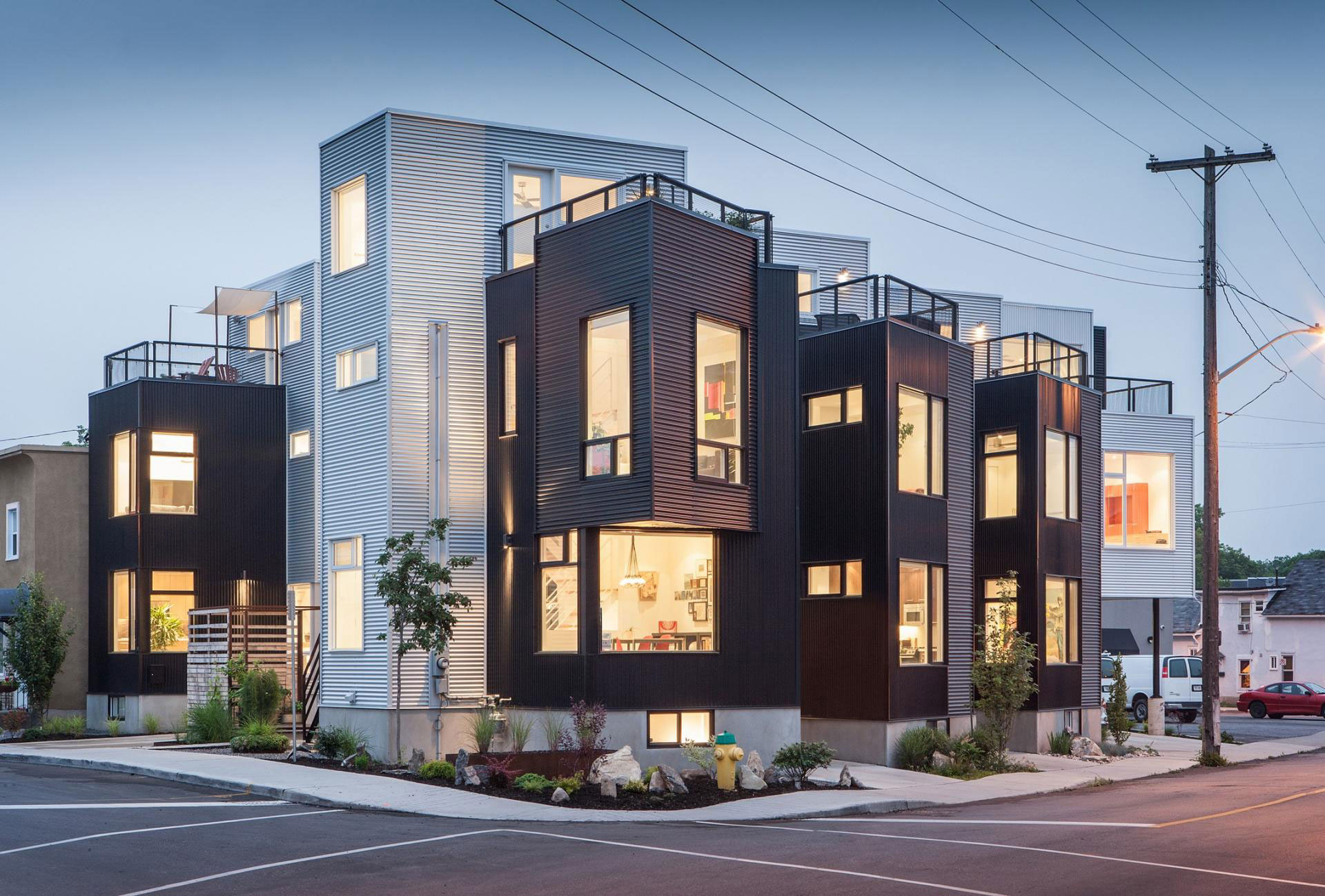 The Hintonburg Six Multi-unit Development by Colizza Bruni Architecture-14