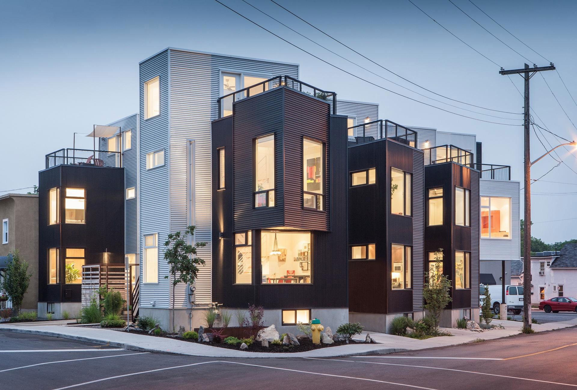 The Hintonburg Six Multi-unit Development by Colizza Bruni Architecture-14