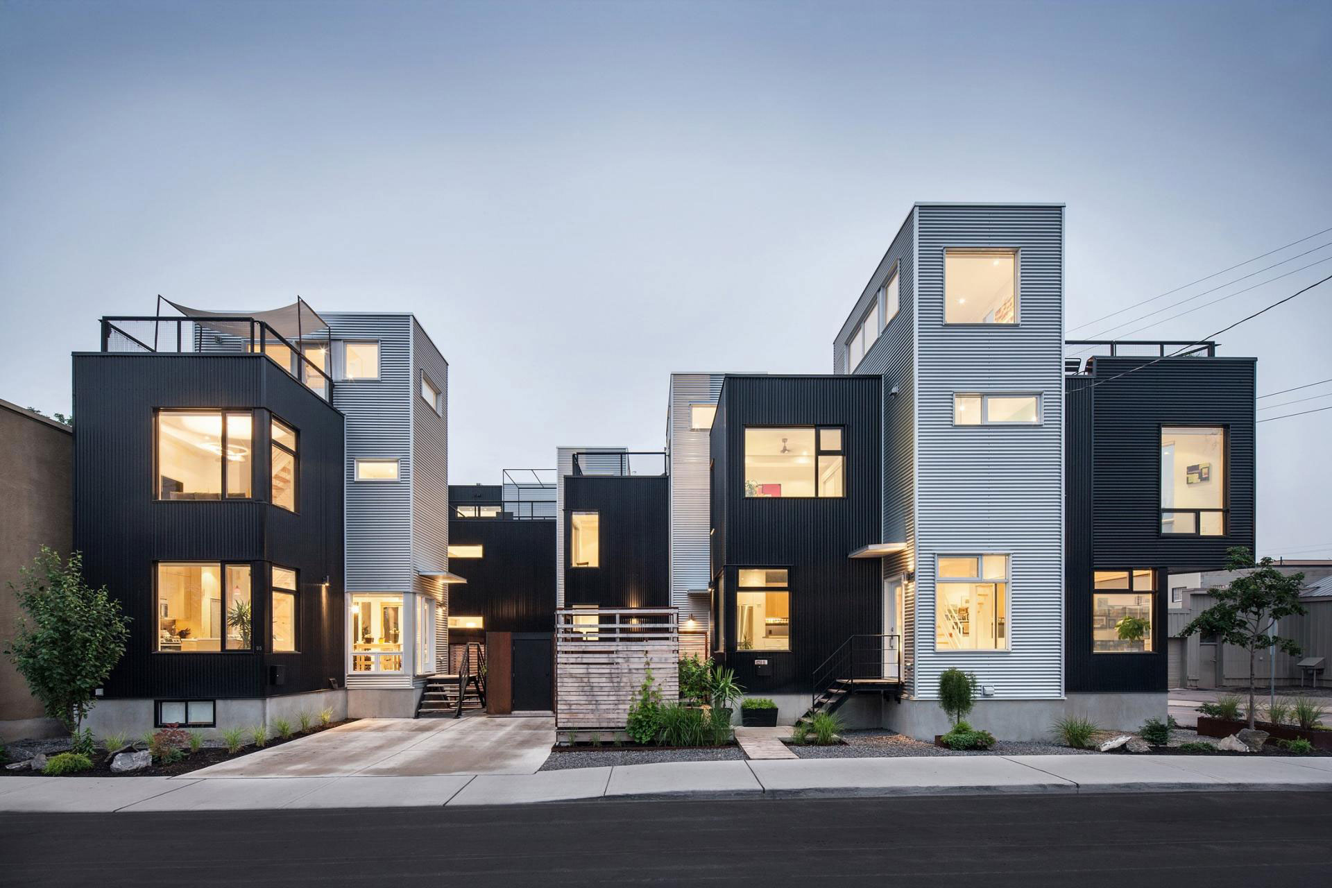 The Hintonburg Six Multi-unit Development by Colizza Bruni Architecture-15