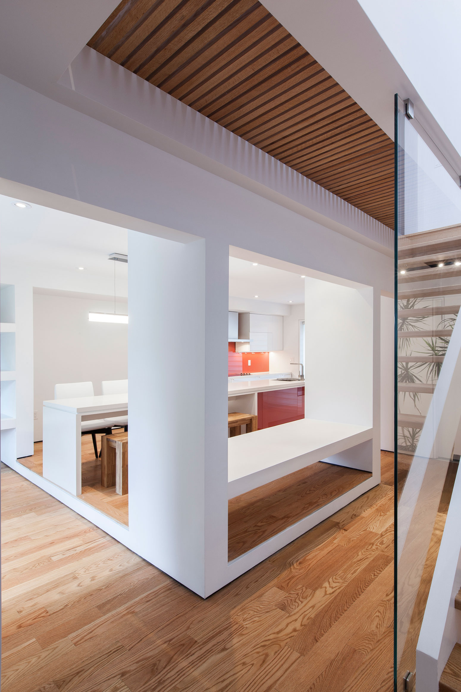 Thorax House, a Minimalist Two-Storey Wood Structure Home by RZLBD-04