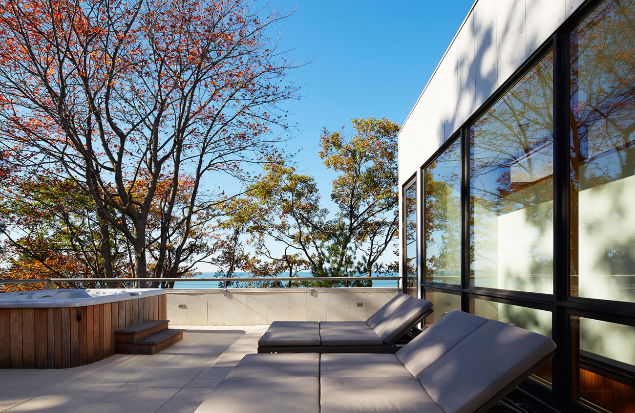 Tranquility and Simplicity Core Elements of Suns End Retreat in Harbert Michigan by Wheeler Kearns Architects-10