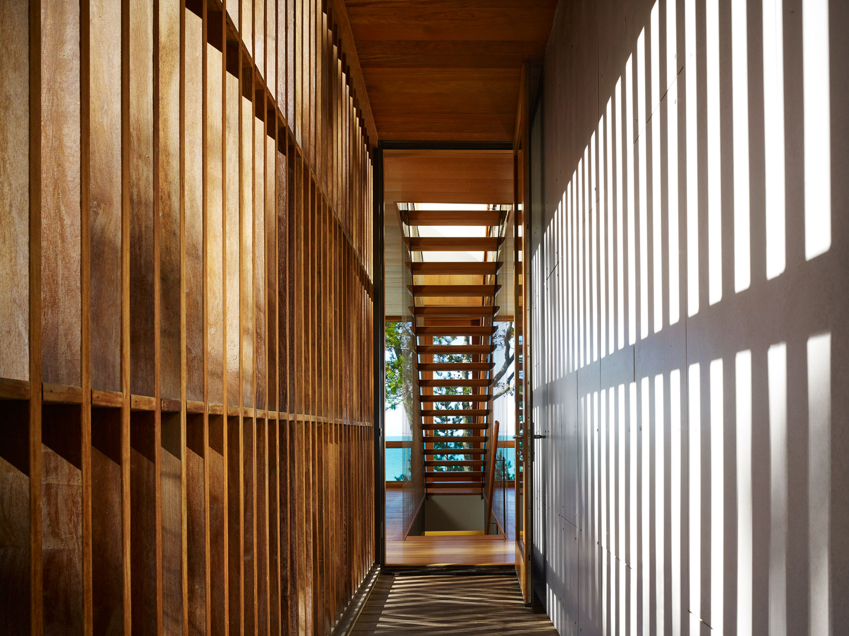 Tranquility and Simplicity Core Elements of Suns End Retreat in Harbert Michigan by Wheeler Kearns Architects-12